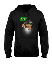 Rottweiler BZ 3105 Hooded Sweatshirt thumbnail