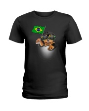 Rottweiler BZ 3105 Ladies T-Shirt thumbnail