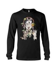 GAEA - Siberian Husky Beauty 3003 Long Sleeve Tee thumbnail