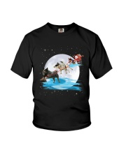 GAEA - Australian Cattle Dog Santa - 59 Youth T-Shirt thumbnail