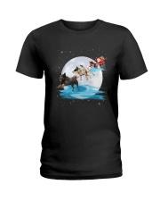 GAEA - Australian Cattle Dog Santa - 59 Ladies T-Shirt thumbnail