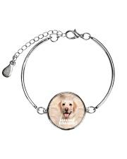 Labrador Retriever Cool 1406 Metallic Circle Bracelet thumbnail