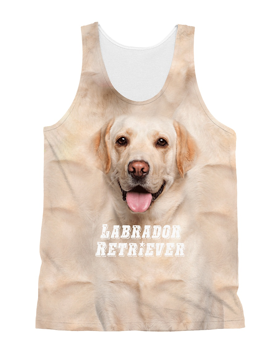 Labrador Retriever Cool 1406 All-over Unisex Tank