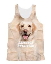 Labrador Retriever Cool 1406 All-over Unisex Tank front