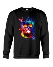 Rottweiler Galaxy Crewneck Sweatshirt thumbnail