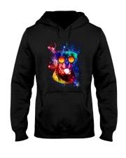 Rottweiler Galaxy Hooded Sweatshirt thumbnail