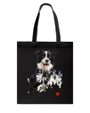 Border Collie Runnig  Tote Bag thumbnail