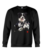 Border Collie Runnig  Crewneck Sweatshirt thumbnail