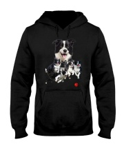 Border Collie Runnig  Hooded Sweatshirt thumbnail