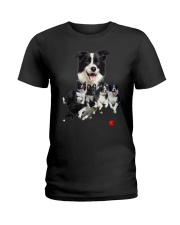 Border Collie Runnig  Ladies T-Shirt thumbnail