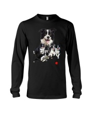 Border Collie Runnig  Long Sleeve Tee thumbnail