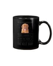 Dogue de Bordeaux Human Dad 0206 Mug tile