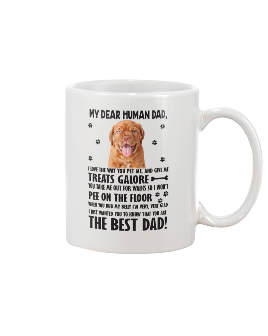 Dogue de Bordeaux Human Dad 0206 Mug