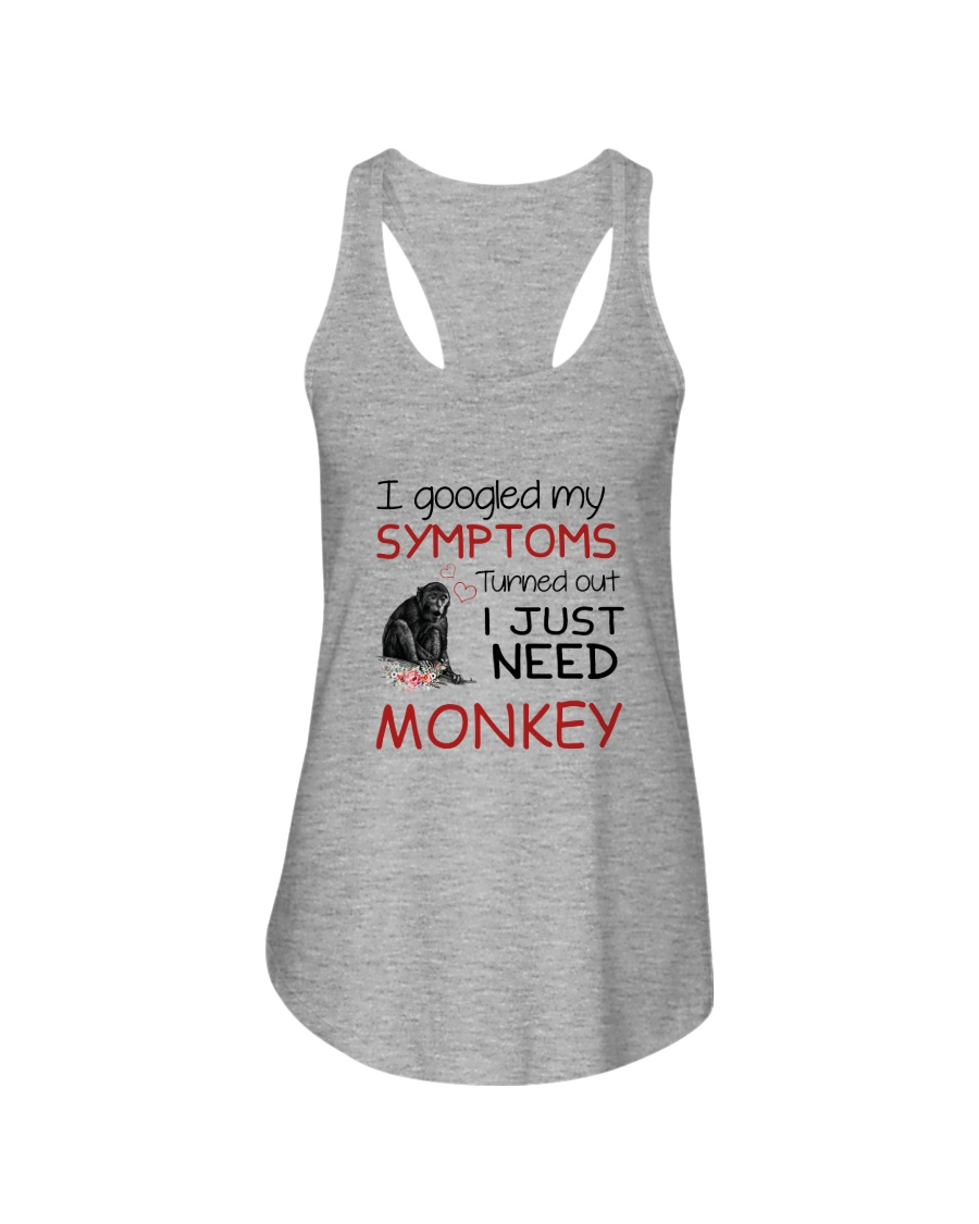 Monkey Need 2304 Ladies Flowy Tank