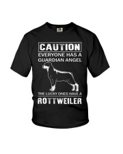 Rottweiler Caution Youth T-Shirt thumbnail