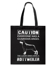 Rottweiler Caution Tote Bag thumbnail