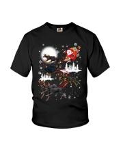 Doberman Pinscher Reindeers - 0711 - 52 Youth T-Shirt thumbnail