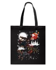 Doberman Pinscher Reindeers - 0711 - 52 Tote Bag thumbnail