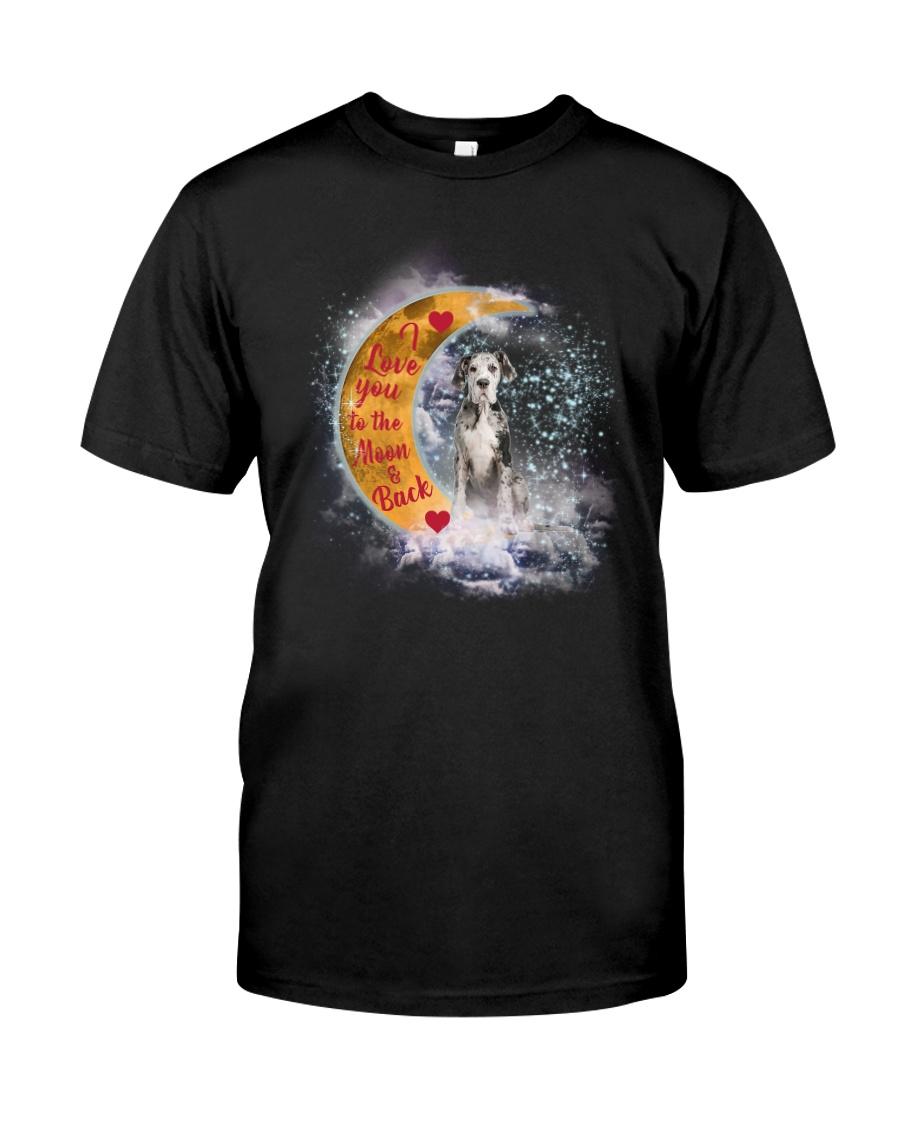 GAEA - Great Dane Love To The Moon 1503 Classic T-Shirt