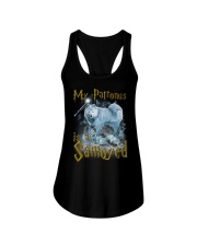 Samoyed Patronus Ladies Flowy Tank thumbnail