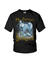 Samoyed Patronus Youth T-Shirt thumbnail