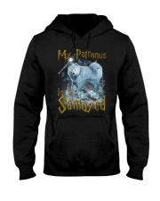 Samoyed Patronus Hooded Sweatshirt thumbnail