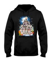 GAEA - Siberian Husky Pine - 1010 Hooded Sweatshirt front