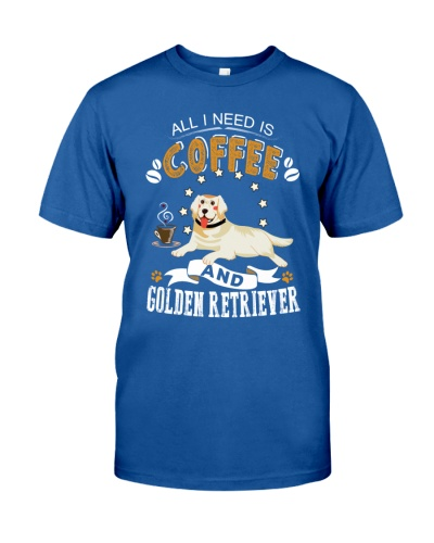 Golden Retriever Coffee And