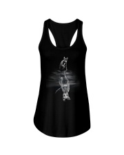 Whippet In Dream Ladies Flowy Tank thumbnail