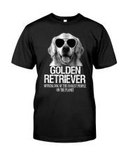 Golden Retriever Official Classic T-Shirt front