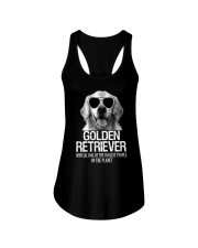 Golden Retriever Official Ladies Flowy Tank thumbnail