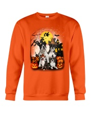ZEUS - Boston Terrier Halloween - 2508 - A6 Crewneck Sweatshirt front