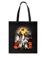 ZEUS - Boston Terrier Halloween - 2508 - A6 Tote Bag thumbnail
