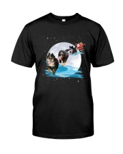 GAEA - Bernese Mountain Dog Santa -1011 - 32 Classic T-Shirt thumbnail