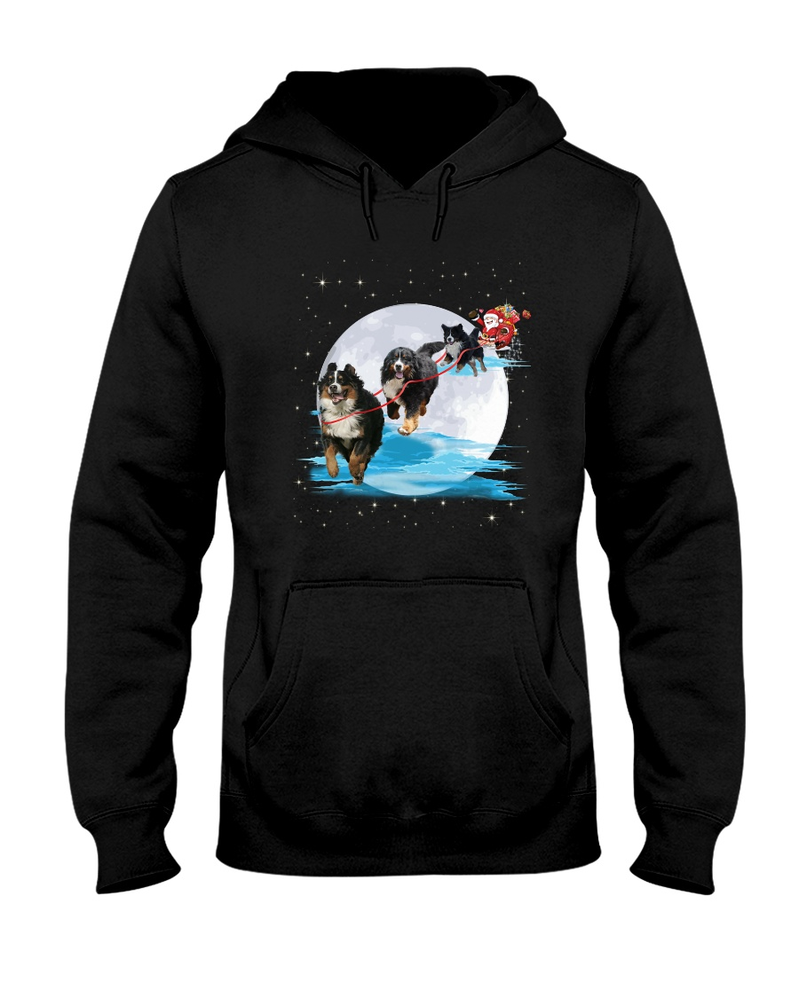 GAEA - Bernese Mountain Dog Santa -1011 - 32 Hooded Sweatshirt