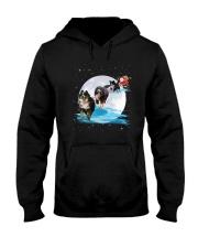 GAEA - Bernese Mountain Dog Santa -1011 - 32 Hooded Sweatshirt front