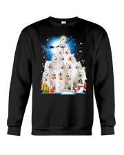 Samoyed Pine Crewneck Sweatshirt thumbnail