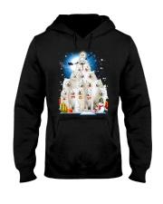 Samoyed Pine Hooded Sweatshirt front