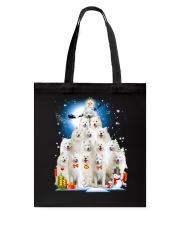 Samoyed Pine Tote Bag thumbnail
