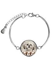 Shih Tzu Awesome 2104 Metallic Circle Bracelet thumbnail