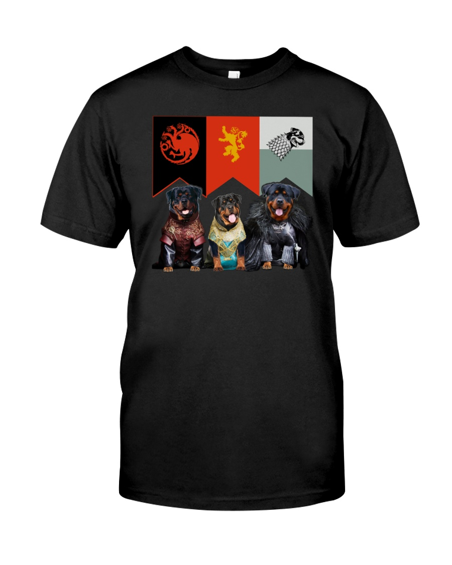 Rottweiler In 3 House Classic T-Shirt