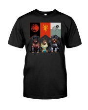 Rottweiler In 3 House Classic T-Shirt thumbnail