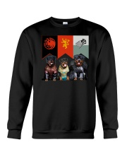 Rottweiler In 3 House Crewneck Sweatshirt thumbnail
