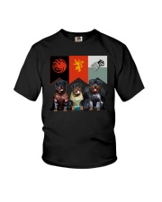 Rottweiler In 3 House Youth T-Shirt thumbnail