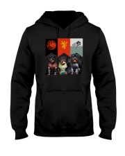 Rottweiler In 3 House Hooded Sweatshirt thumbnail
