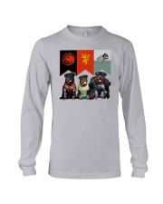 Rottweiler In 3 House Long Sleeve Tee tile