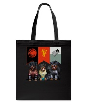 Rottweiler In 3 House Tote Bag tile