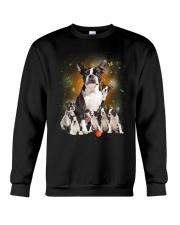 GAEA - Boston Terrier Smile 0904 Crewneck Sweatshirt thumbnail