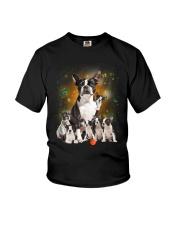 GAEA - Boston Terrier Smile 0904 Youth T-Shirt thumbnail