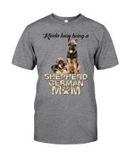 GAEA - German Shepherd Busy Mom 1704 Classic T-Shirt front